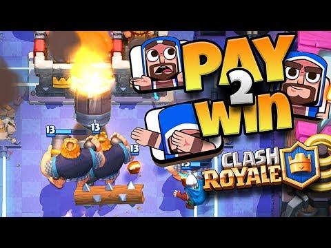DABBING WIZARD EMOTE = PAY 2 WIN?? - Clash Royale