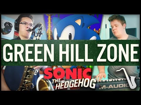 Sonic the Hedgehog: Green Hill Zone - Jazz Cover || insaneintherainmusic (feat. Nick Smith)