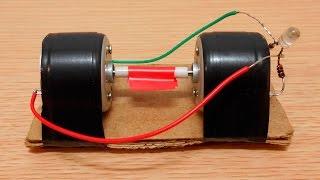 видео Простой самодельный электрогенератор