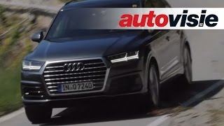 New Audi Q7 - review by Autovisie TV