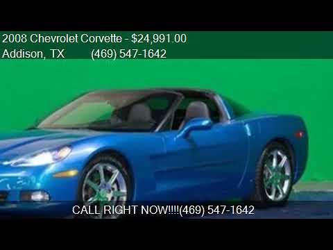 2008 Chevrolet Corvette Jet Stream Blue Nav Heads Up Displ Youtube
