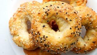 2 Ingredient Bagels - IMPROVED Weight Watchers Bagel Recipe