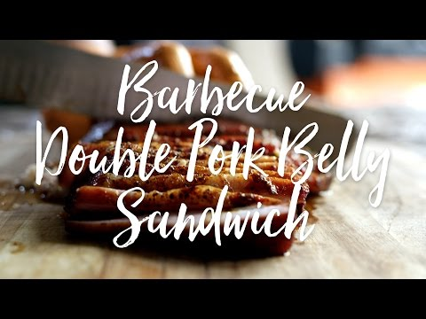 Barbecue Double Pork Belly Sandwich