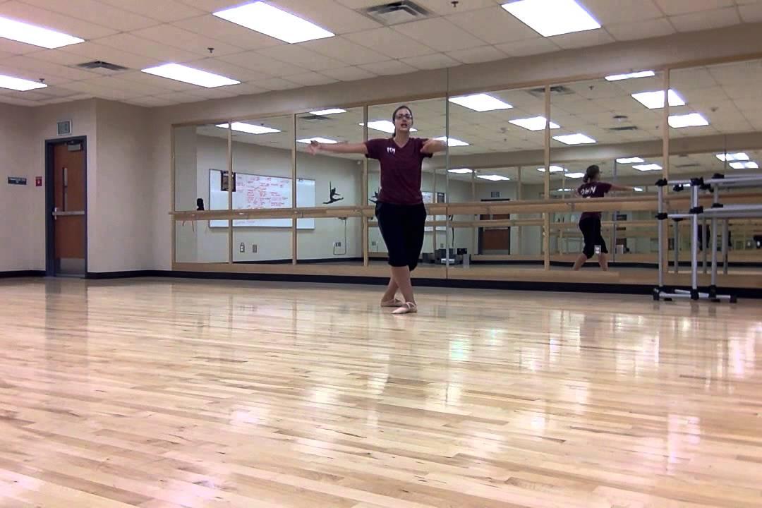 Ballet Waltz Combo Across The Floor Youtube