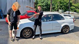 REVEALING THE NEW EVO 5 OWNER (LIVE Q&A)