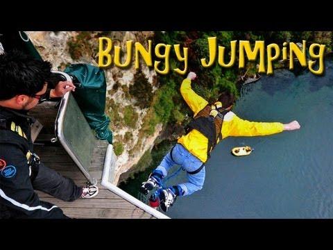 Bungy Jumping at Lake Taupo