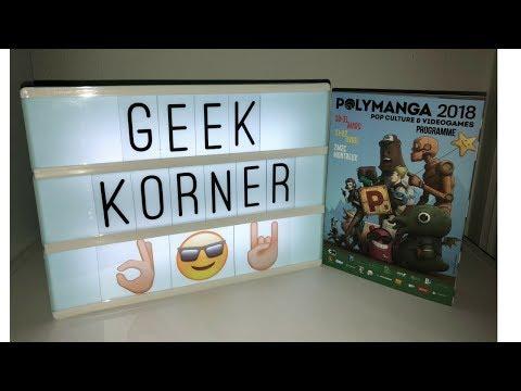 Polymanga 2018 + Déballage