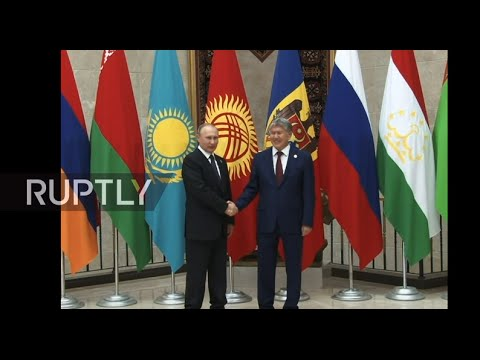 LIVE: Putin to attend CIS council in Bishkek