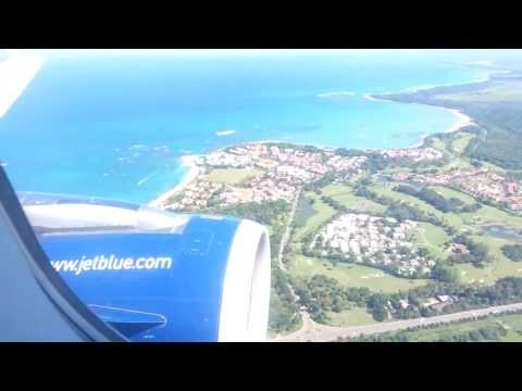 Landing Puerto Plata Dominican Republic (POP) 12/29/12
