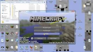 Minecraft How to install Lion King Mod 1.6.4 PC