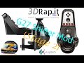 Logitech Shifter Mod for the G25 G27 G29 G920 Stage 2 by 3DRap