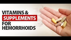Hemorrhoid Vitamin Supplements