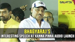 Bhagyarajs interesting speech at Kanna Pinna audio launch