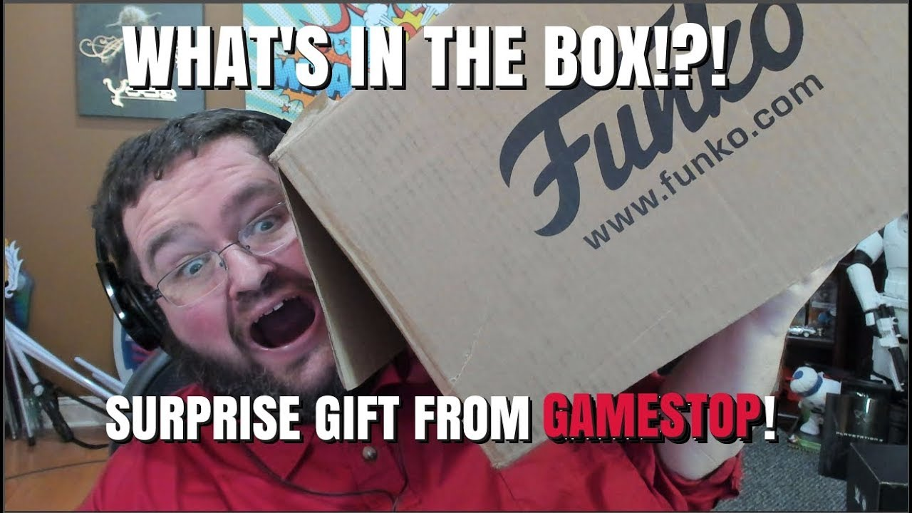 Surprise Package From Gamestop Youtube