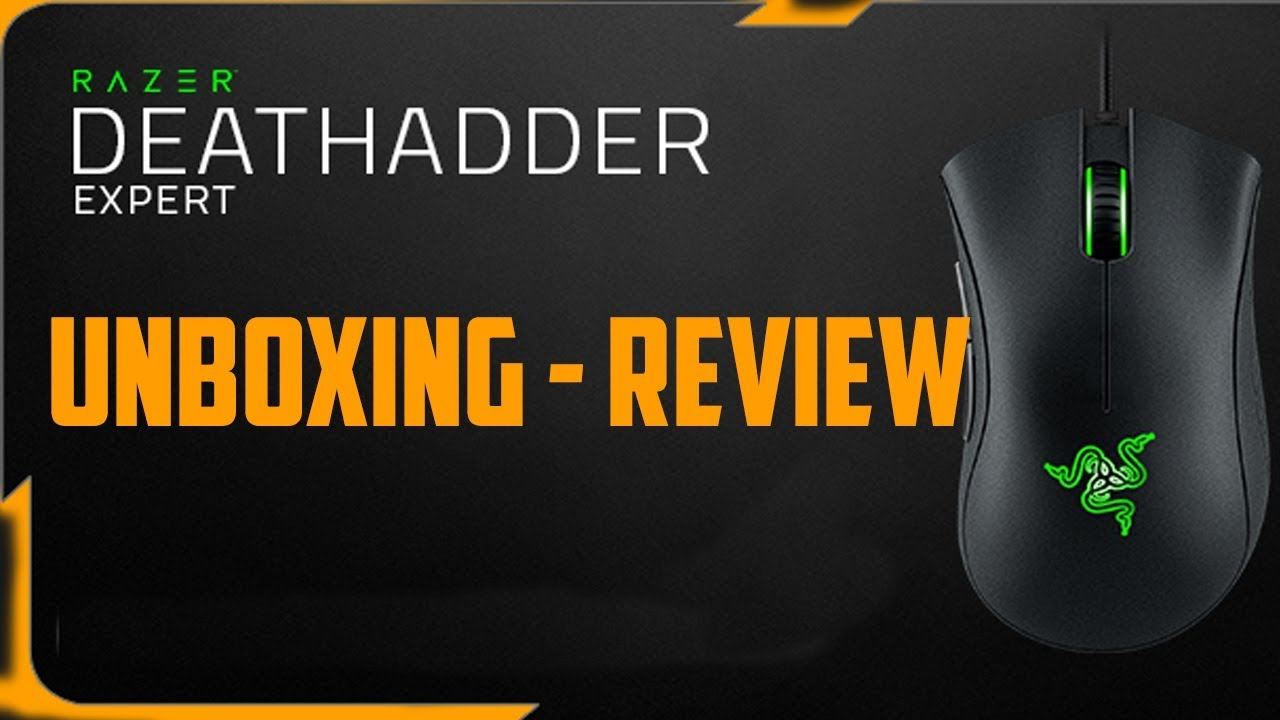 Hands On the new Razer Deathadder Expert 2018! ( Unboxing - Review )