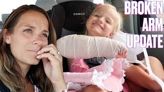 UNEXPECTED CONCERNING PHONE CALL FROM THE DOCTOR ABOUT TODDLER'S BROKEN ARM | BROKEN ARM UPDATE