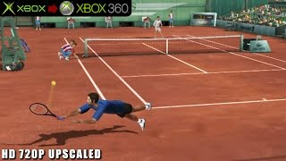 Top Spin - Gameplay Xbox HD 720P (Xbox to Xbox 360)