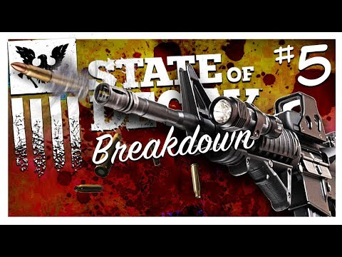 SLOW-MO ASSAULT RIFLE (Level 4) | State of Decay: Breakdown Gameplay Part 5