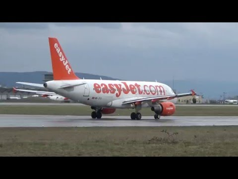 20+ Minutes / Basel Euro Airport Plane Spotting / Featuring :  A319, A320, A321, 737, CRJ700, E-170