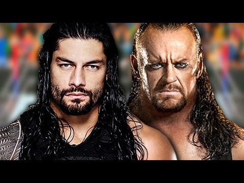 WrestleMania 33 - Undertaker vs. Roman Reigns (Full Match Simulation)
