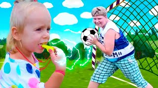The Soccer Song | Football Song | Nursery Rhymes Kids Songs