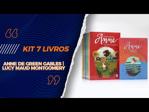 kit-7-livros- -anne-de-green-gables- -lucy-maud-montgomery-+-notes---livrarias-família-cristã