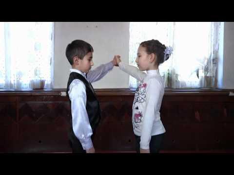 Уроки вальса для детей видео