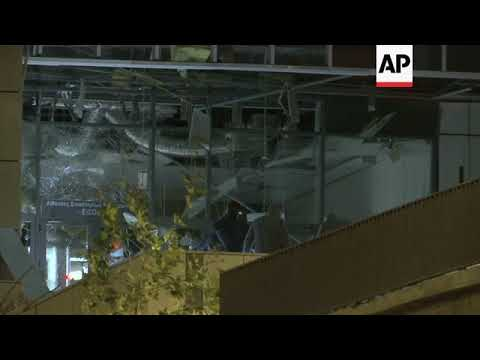 Explosion damages court complex in central Athens, no injuries