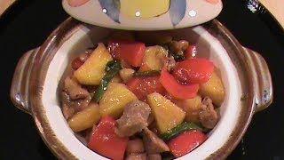 Pineapple Chicken -- Quick & Easy Chinese Cuisine  by Chinese Home Cooking Weeknight Show
