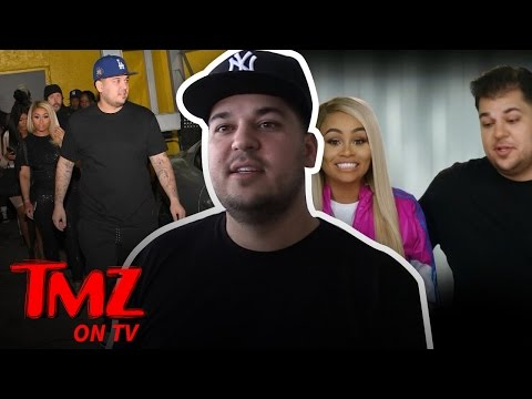 Rob Kardashian's Family Scared for His Life After Massive Weight Gain (TMZ TV)