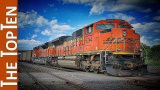 The Top Ten Most Powerful Locomotives in the World