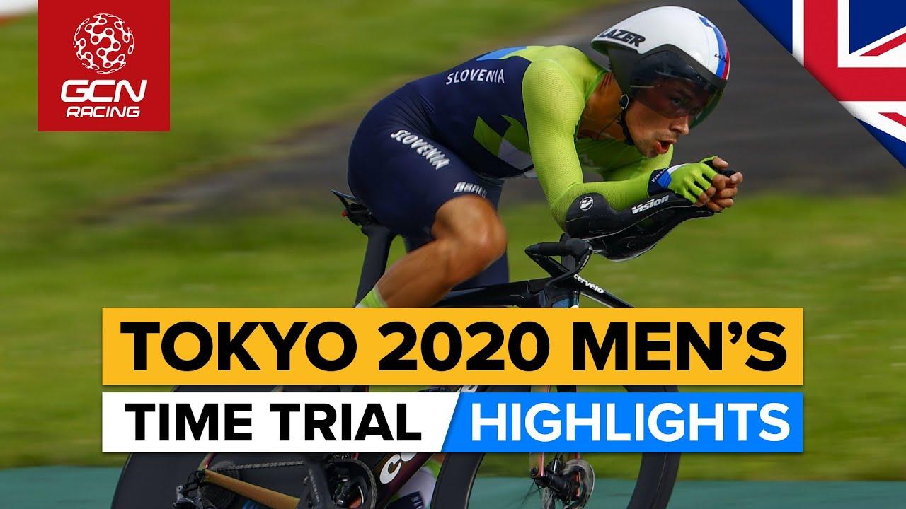 Tokyo 2020 Men's Time Trial Highlights