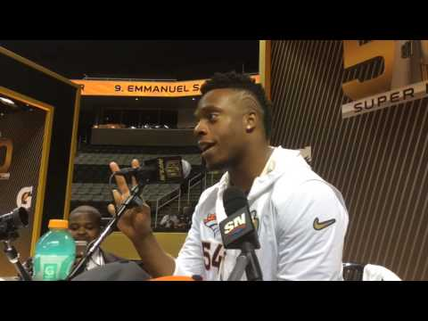 Brandon Marshall on being confused with the other Brandon Marshall
