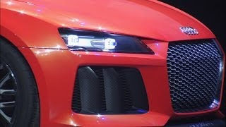► Audi Sport quattro laserlight concept unveiled at CES 2014