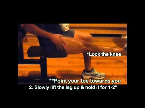 Knee Pain Exercises 5 - Bursitis of the Knee Exercise for Swollen Knee
