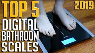 Top 5 Best Digital Bathroom Scales 2019 | Most Accurate Bathroom Scale