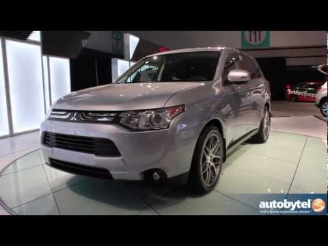 2014 Mitsubishi Outlander Crossover SUV Video Reveal @ 2012 LA Auto Show