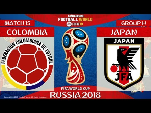 Colombia vs Japan   FIFA World Cup Russia 2018   Match 15   19/06/2018   FIFA 18