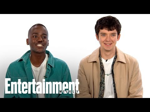 'Sex Education' Stars Asa Butterfield & Ncuti Gatwa Talk Season 2 Details | Entertainment Weekly