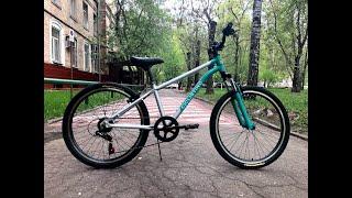 Огляд і розпакування підліткового велосипеда Ciclistino Rider 24