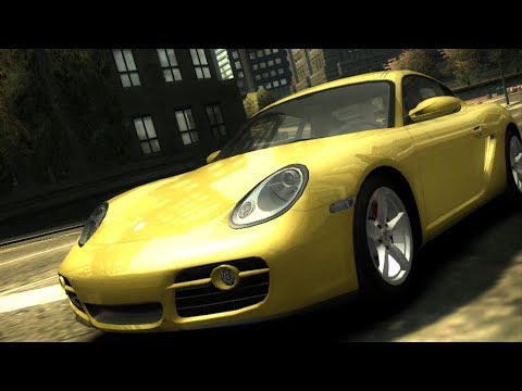 Need For Speed: Most Wanted - Porsche Cayman S - Test Drive Gameplay (HD) [1080p60FPS]