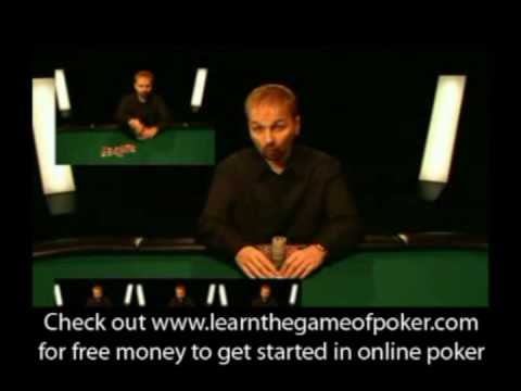 Beginner Poker Lessons with Daniel Negreanu - 1/3