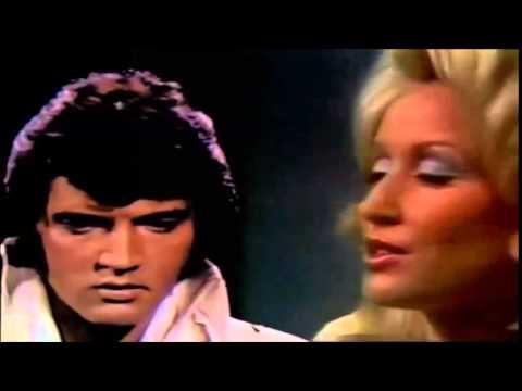 Elvis Presley and Dolly Parton