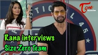 Rana interviews Size Zero Team ||  Arya ||  Anushka Shetty