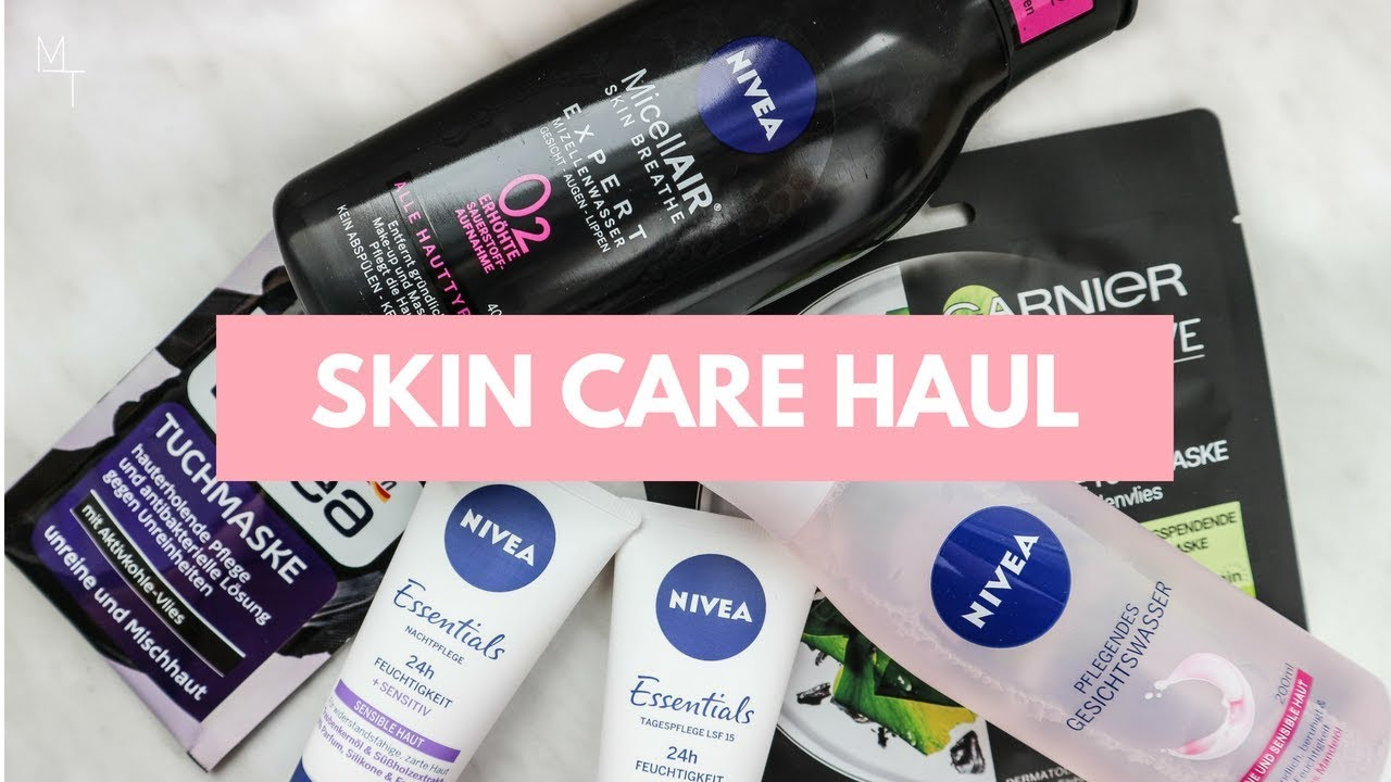 8c1fa573d87 GERMAN DRUGSTORE SKIN CARE HAUL 2018 | DM HAUL + FIRST IMPRESSIONS REVIEW