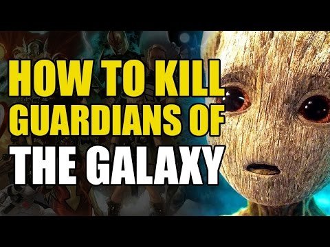 How To Un-Alive The Guardians Of The Galaxy (How To Un-Alive Superheroes)