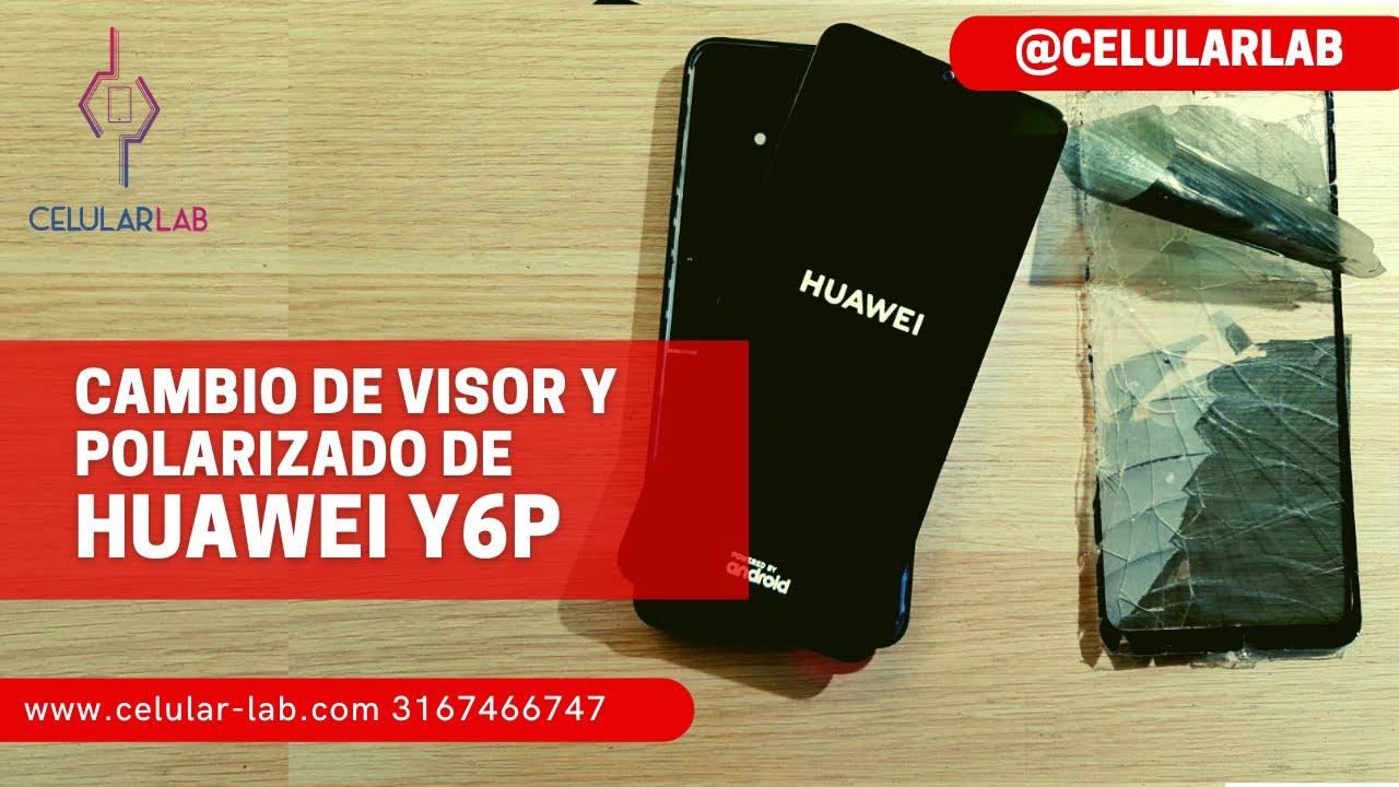 📱 Cambio de Polarizado Pantalla LCD Huwei Y6p 📵 Lo reparamos con Algunos Contratiempos 📵