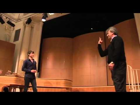 2012: Jeremy Kleeman, bass baritone. MasterClass with Jeffrey Black and David Harper.