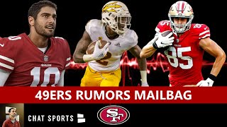 San Francisco 49ers Mailbag: George Kittle Extension? Aaron Rodgers Trade? Big Year For Jimmy G?