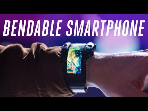 .柔性螢幕手環搶先發佈?功能強大至可以替代手機!